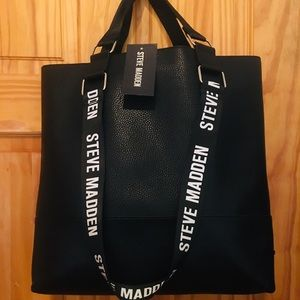 Brand new Steve Madden sport tote with pouch.